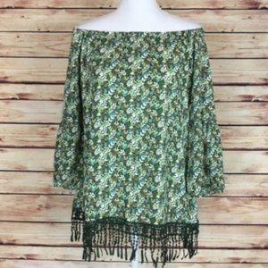 NEW Charming Charlie Off The Shoulder Top Medium